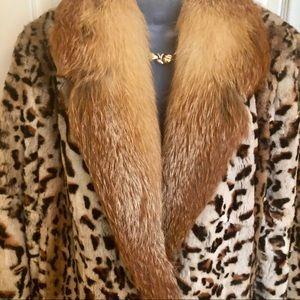 Jackets & Coats - Fox Jacket Lord & Taylor's w Rex Rabbit! Fabulous